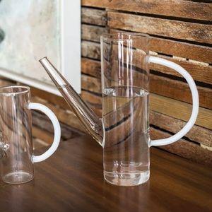 Latitude Run | Home Small Watering Can Glass Decor